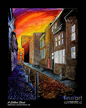 A Cobbled Street by eVol  i