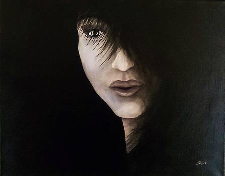 A Face in the Shadows  by Edwin Alverio