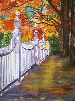 A Fall Walk by Linda L Stinson