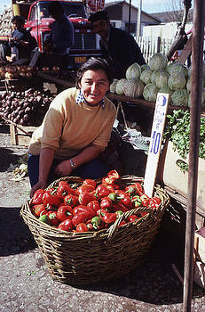 A Farmers Market in Chile by Thomas D McManus
