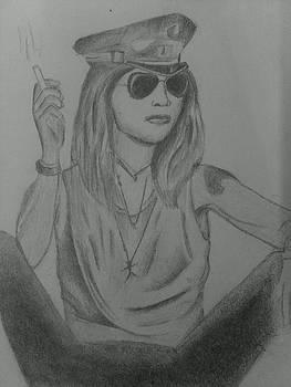 A gangsta girl by Debasis Rath