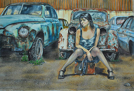 A Junk-car Named Desire by Don Whitson