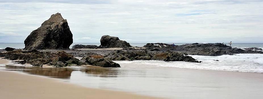 A Little Beach near Currumbin QLD by Boyd Nesbitt