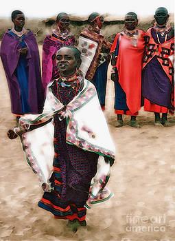 Gwyn Newcombe - A Maasai Girl