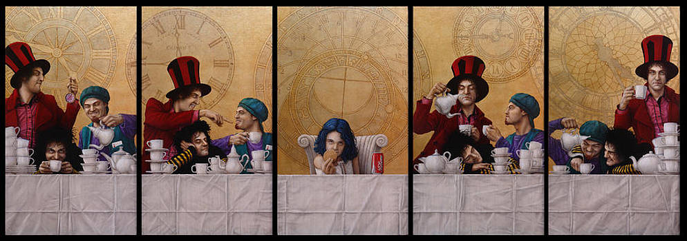 A MAD TEA-PARTY from Alice in Wonderland by Jose Luis Munoz Luque