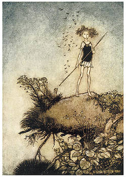 Arthur Rackman - A Midsummer Night
