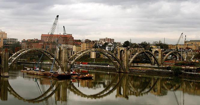 A New Beginning-Henley Street Bridge by Jeanne Thomas