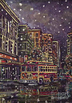 A Night In Town by Dinah Anaya