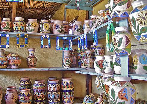 Michael Peychich - A Oaxaca Pottery Shop
