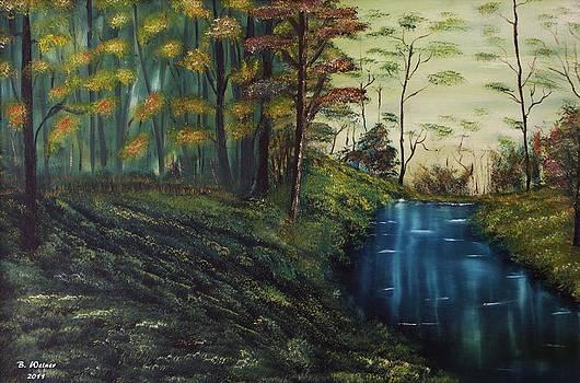 A Quiet Stream by Baruch Weiner
