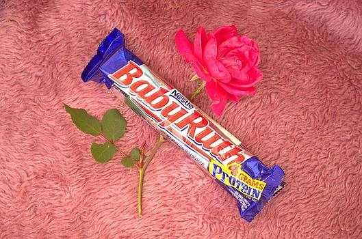 A Rose And A BabyRuth by Tom Zukauskas