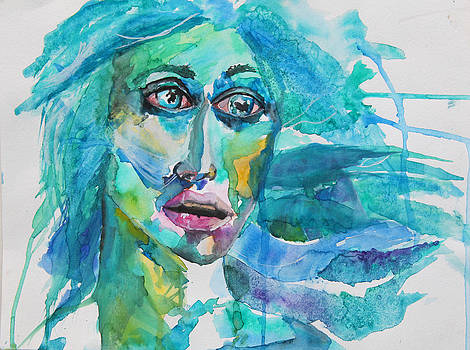 A Series of Watercolor Portraits by Jacquie Waldman