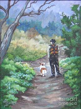 A Slow Walk in the Woods by Ann Becker