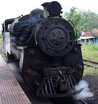 A Steam Train Engine by Jiss Joseph