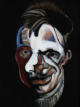 A Study for a Portrait of Francis Bacon II by Ryan Babcock