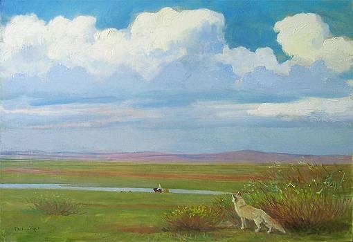 A Summer Day by Ji-qun Chen