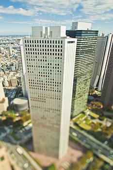 A Tall Modern Building Skyscraper by Eddy Joaquim