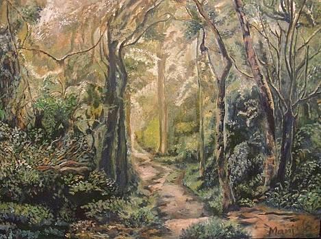 A tropical forest by Manjula Prabhakaran Dubey