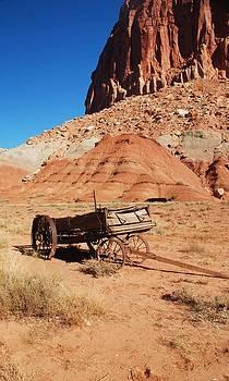 Kathleen Heese - A Wagon Left Behind