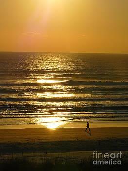 A Walk On The Beach by Jody Curran