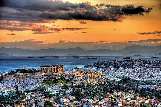 A warm afternoon in Athens by Stamatis Gr
