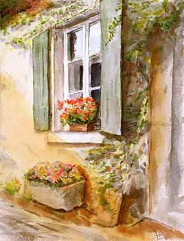 A Window in Hungary by Maria Varga-Hansen