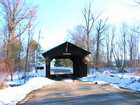 A Winter Road Trip by Victoria Sheldon