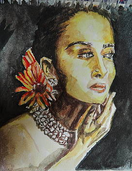 A Worried Lady by Abhrodeep Mukherjee