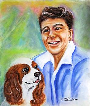 A Young Ronald Reagan by Carol Allen Anfinsen
