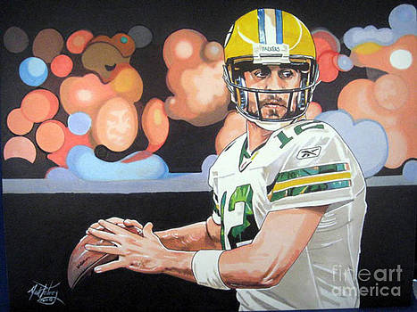 Aaron Rogers by Neal Portnoy