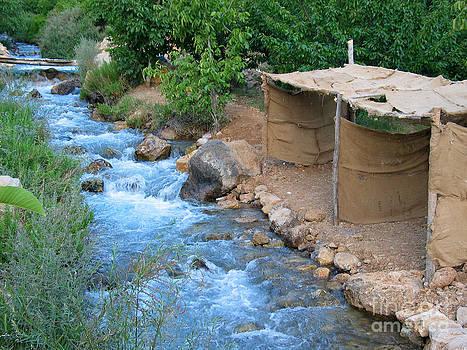 Aawaj river by Issam Hajjar