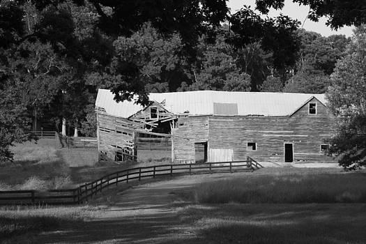 Abandoned Barn by Sharon Spade - Kingsbury