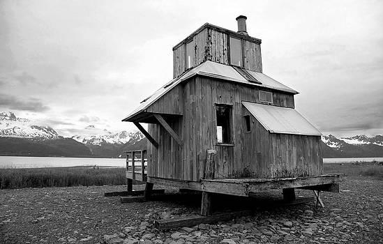 Abandoned Coastal Shack by Wyatt Rivard