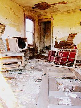 Abandoned Family Room by Stephanie Olsavsky