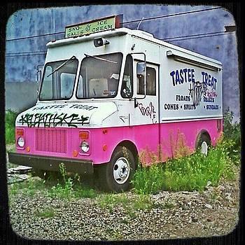 Abandoned Ice Cream Truck by David F