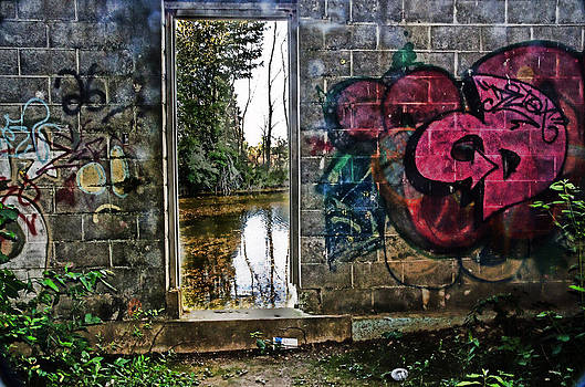 Abandoned relfections by Cheryl Cencich