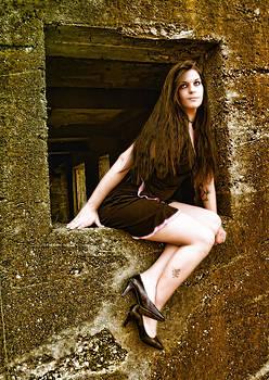 Kristie  Bonnewell - Abandoned Window Beauty