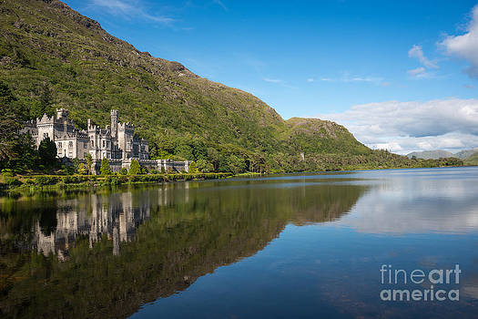 Abbey on the lake by Andrew  Michael