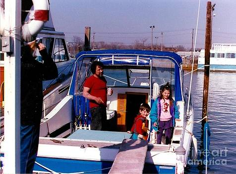 Aboard The Osprey Happy Birthday Daddy May 17 1941 by Scenesational Photos