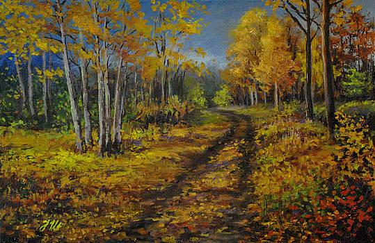 About Autumn by Julia Utiasheva