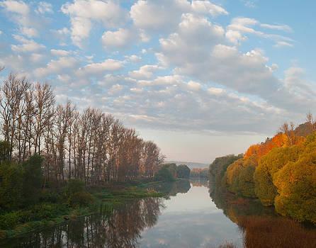 Above the border of seasons by Konstantin Gushcha