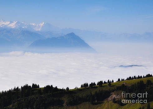 Above the clouds by Svetlana Peric