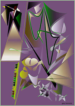 Abstract 2 by Gary Kennedy