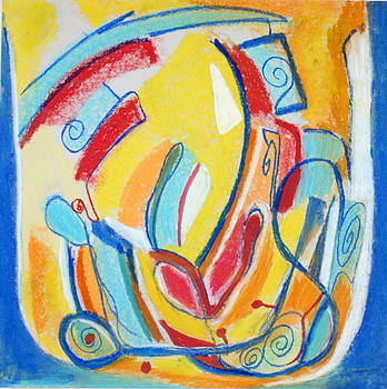 Abstract 73 by Sandra Conceicao