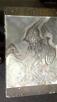 Abstract Alien Oracle by Jonathon Hansen