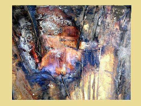 Abstract - Bark  by Basant Soni
