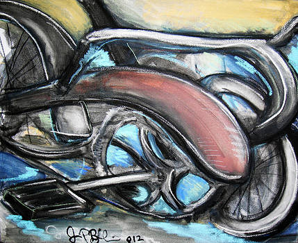 Jon Baldwin  Art - Abstract Bike