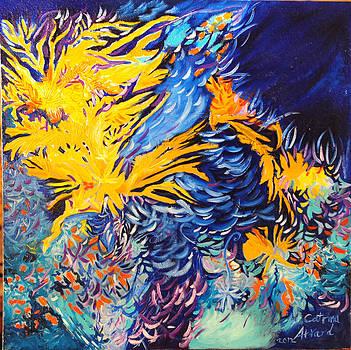 Abstract by Catrina louise  Attard