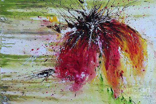 Abstract  flower by Ismeta Gruenwald