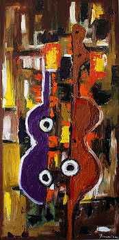 Abstract Guitars by Francoise Lynch
